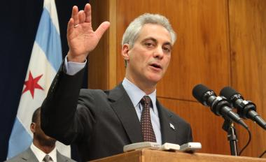 Mayor Rahm Emanuel said the pact with police sergeants helped secure their pensions and the city's financal future.