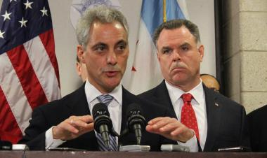 Mayor Rahm Emanuel and Police Supt. Garry McCarthy pushed tougher gun penalties Monday, but the mayor also expanded the debate on gun violence.
