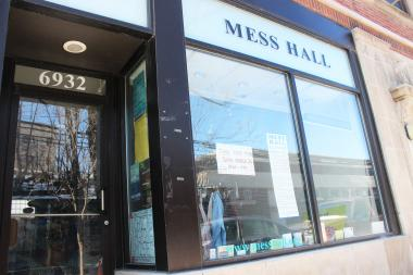 The Mess Hall, 6932 N. Glenwood Ave., will close March 31 after 10 years in the neighborhood.