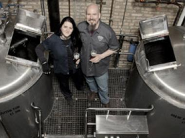 Tracy and Doug Hurst of Metropolitan Brewing are preparing to expand operations.