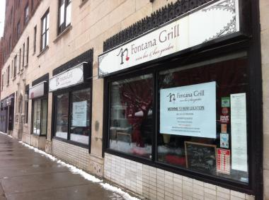 The Fontana Grill, at 1329 W. Wilson Ave. in Uptown, will close its doors next week. Owners plan to move the eatery to an Andersonville location.