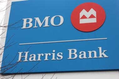 A BMO Harris Bank branch at 6506 S. Western Ave. closed this month, and local customers said it did so without notice.