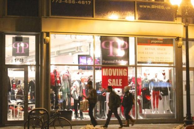 Personal Privilege boutique at 1448 N. Milwaukee Ave. is moving one half-block south, to 1420 N. Milwaukee Ave. (in the former RGB Lounge space) beginning March 1.  Until then, items are marked up to 75 percent off.