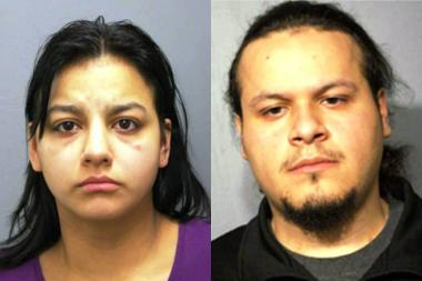 Priscilla Forys, 22 and Julian Hernandez, 21, are charged with felony child abuse.