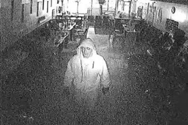 Surveillance footage shows a suspect that police said robbed a store in the 3100 block of South Ashland Avenue about a week ago.