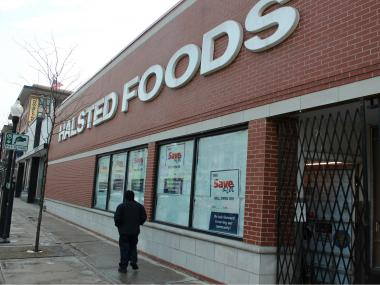 The shuttered Halsted Foods will soon reopen as a Save-a-Lot grocery store.