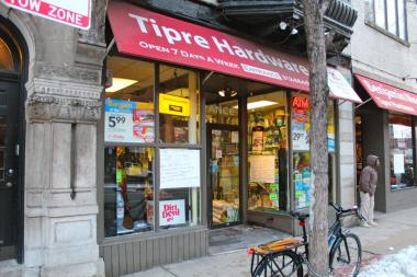 Joe Tipre, the long-time owner of Tipre Hardware, died unexpectedly Thursday.