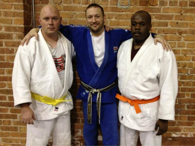 The Warriors Without Limits judo program was created by Brett Wolf.