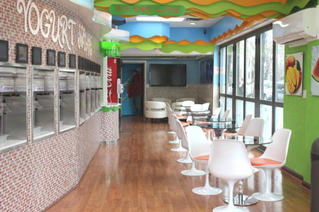 Yogurt Square reopened March 1 in Lincoln Square after two months of renovations.
