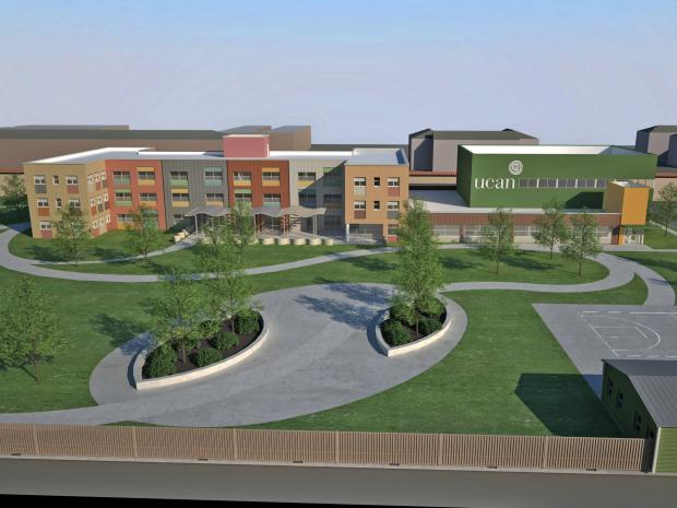UCAN has selected a team of minority and women-owned firms  	to design and build their CITY Campus in North Lawndale for Chicago's youth hit by violence.