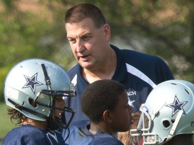 Andy Ekern, coach of the Welles Park Cowboys, has been nominated for the Positive Coaching Alliance Double-Goal Award.
