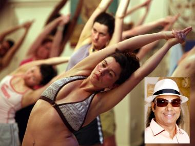 "Bikram ""hot yoga"" founder Bikram Choudhury was accused Thursday of sexual abuse by a former student."