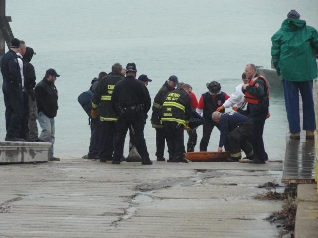 The body of a Burbank man was pulled from Lake Michigan Friday afternoon, officials said.