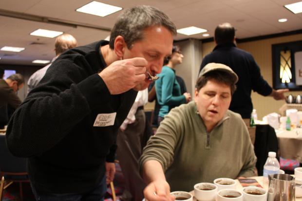 Bridgeport Coffee brought together farmers and coffee retailers Saturday in River North. (March 2, 2013)