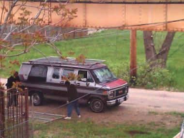 This van was seen leaving locations where thefts occurred on the South Side, police said.