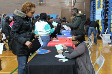 More than 100 employers will be ready to hire you on the spot at a Feb. 17 job fair that will also provide job seekers with clothes for interviews if they don't have any.