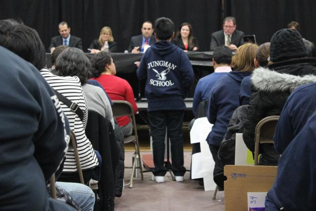 The last public hearing drew hundreds ahead of a CPS announcement on closings set for late March.