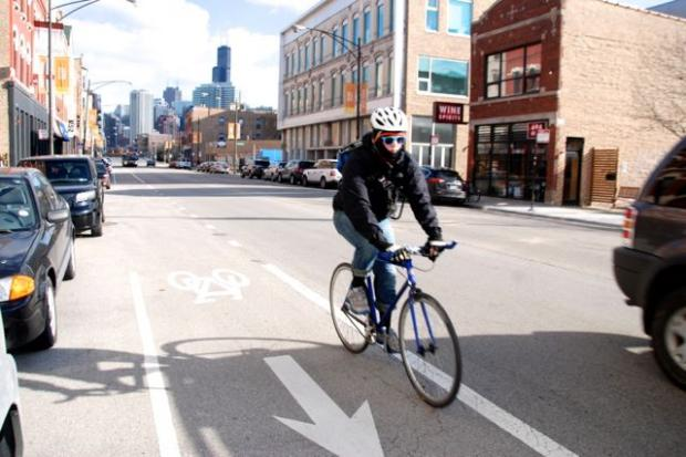 CDOT officials said they're planning to move ahead with constructing barrier and buffer protected bicycle lanes on a .85- mile stretch of Milwaukee Avenue between Kinzie Street and Elston Avenue.  The project is expected to begin in May and will cost $1.1 million, using $250,000 of tax increment financing from a River West TIF district.
