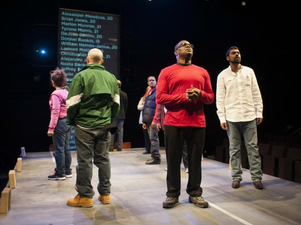 """How Long Will I Cry?: Voices of Youth Violence"" provides a look into Chicago's youth violence through first-hand accounts compiled by a DePaul University English professor and his students who interviewed about 70 people over the past two years for the production."