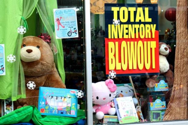 Kids Rule, a toy, book and party supply store at 1534 N. Milwaukee Ave. in Wicker Park is closing and clearing out inventory, its owner said Tuesday. Items in the store are priced between 25 and 70 percent off.