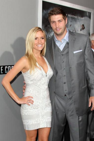 Kristin Cavallari and Bears quarterback Jay Cutler have registered for wedding gifts at Williams-Sonoma and Crate & Barrel.