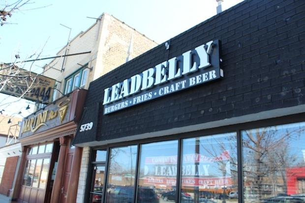Leadbelly, which will offer homemade burgers and cookies, opens Saturday at 5739 W. Irving Park Road.