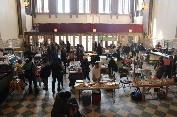The last indoor Logan Square Farmers Market will be held Sunday, March 24.
