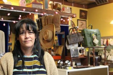 Lori Lindbeig, owner of Clothes Optional Vintage, considered the 2918 N. Clark St. store her home. She plans to close the store in the coming months.
