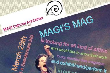 MAGI's MAG, a free arts magazine, will be distributed around the city by the MAGI Cultural Art Center in Pilsen.