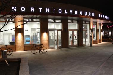 A man was stabbed Monday night on the North/Clybourn station platform, police said.