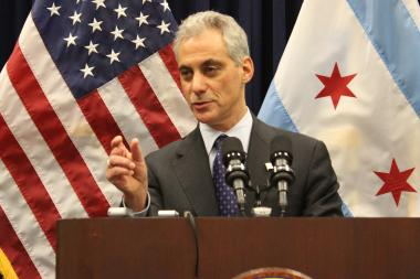 Mayor Rahm Emanuel says punishing small crimes can keep them from turning into large crimes.