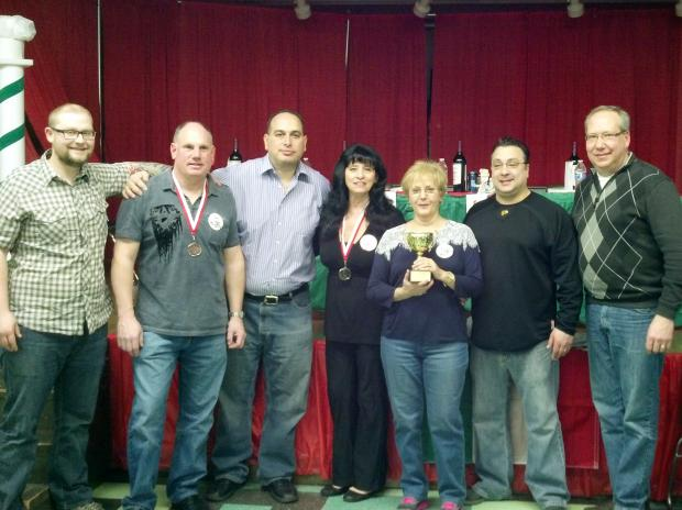 The 2013 Meatball Master cup at Santa Lucia School featured a pasta dinner and raffle.