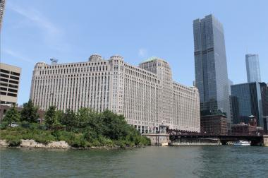 The Merchandise Mart is Chicago's fortress of commerce — and a top draw for Airbnb with its NeoCon Trade Fair.