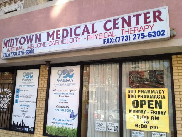 The Midtown Medical Clinic at 4527 N. Sheridan Road was raided by federal authorities March 7.