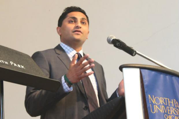 Ald. Ameya Pawar is running for governor of Illinois.