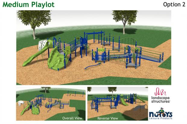 Chicago Plays! program has parks competing for playground funds. The deadline is April 15, 2013.