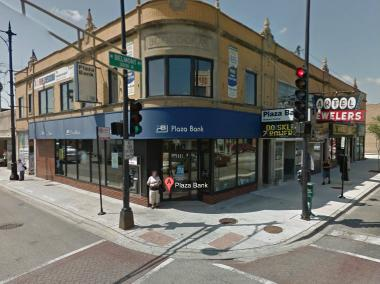 A man robbed Plaza Bank, 5601 W. Belmont Ave., Friday afternoon, officials said.