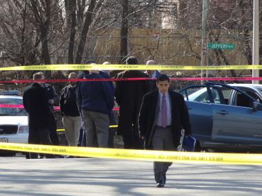 Police were involved in a South Side shooting near East 93rd Street and South Chappel Avenue Friday afternoon, officials said.