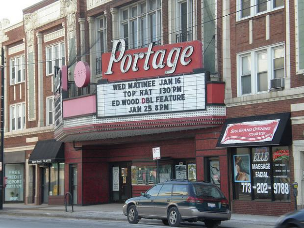 Owner Eddie Carranza said he   plans to show first-run movies at the Portage Theater.