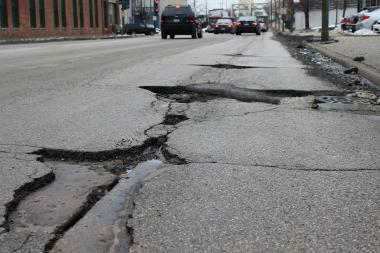 City crews have filled more than 215,000 potholes in 2014. Another 25,000 are slated for repair in March.