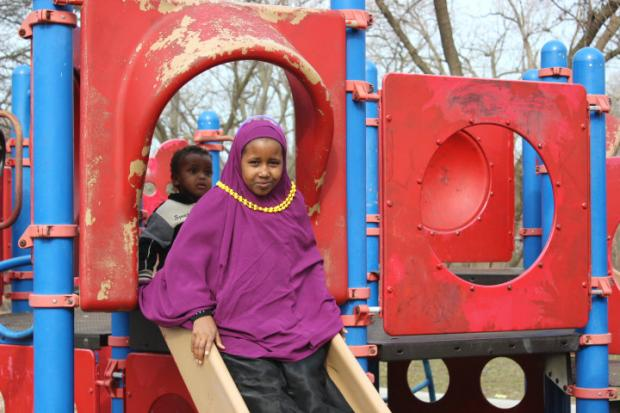 Ronan Park in Albany Park is among those chosen by Chicago Plays! to receive a playground upgrade.