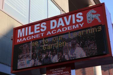 Miles Davis Magnet Academy will not be closed, Ald. Toni Foulkes said.