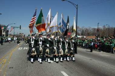 The South Side Irish Parade starts at noon on Sunday, and police will be vigilant about enforcing open container laws.