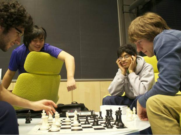 Whitney Young graduate Michael Auger and the University of Illinois club chess team are heading to the national semifinals.