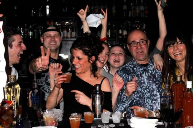 The 2nd Annual Mixologist Mash-Up was held Thursday at Dolphin.  Here's a few highlights.