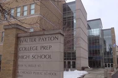 Walter Payton College Prep High School on the Near North Side was the toughest selective-enrollment high school to get into for the fourth year in a row, CPS said.