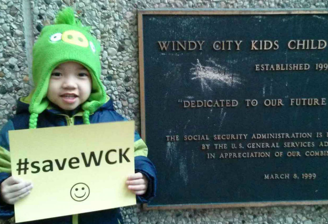 The parents of Windy City Kids students are lobbying to keep the subsidized day care center open with new management.