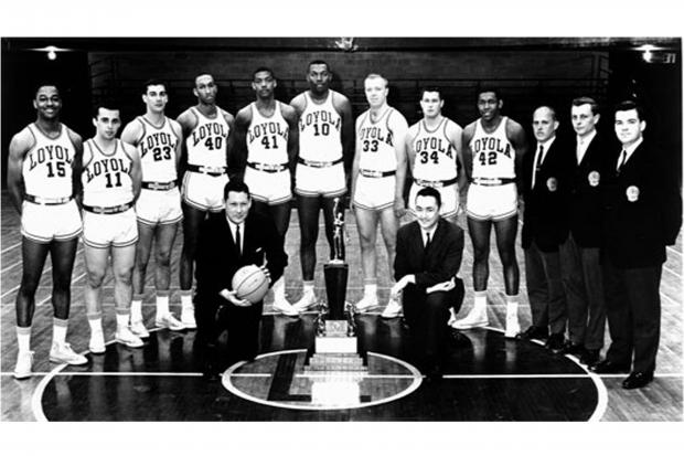Loyola's historic 1963 National Championship team will be inducted into the National Collegiate Basketball Hall of Fame in November.