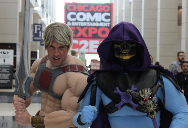 The 2013 Chicago Comic and Entertainment Expo kicked off Friday at McCormick Place. The weekend-long expo, also known as C2E2, draws fans from around the country to Chicago.