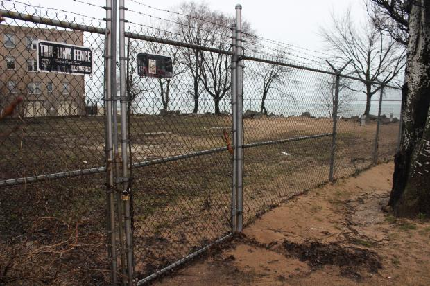 At Albion Avenue, a gravel lot could be transformed into a dune restoration area and community garden.